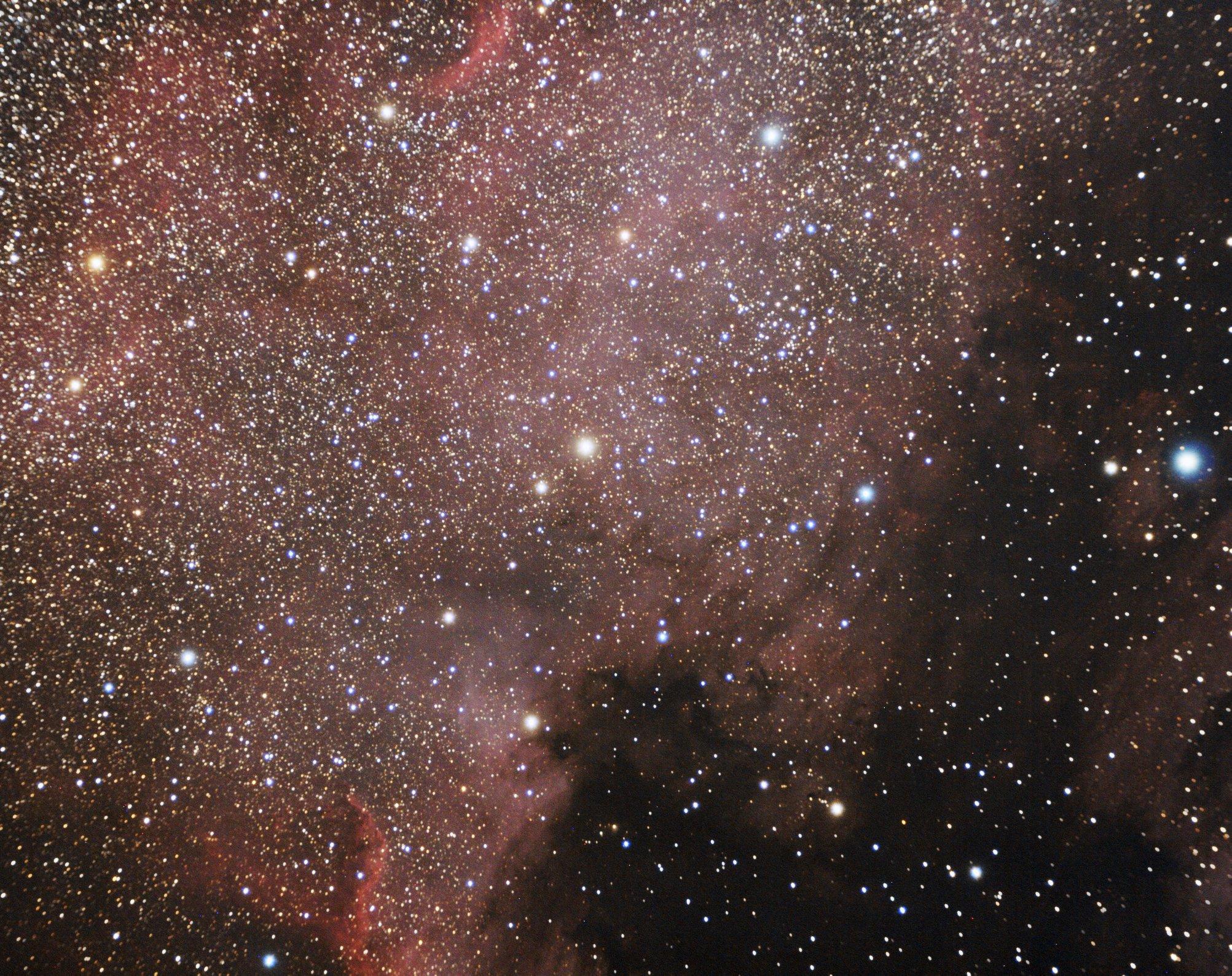 NGC 7000 Pohjois-Amerikka-sumu, kuvaaja: Jarkko Suominen