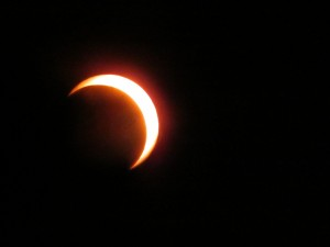 Osittainen auringonpimennys 4.1.2011 (c) Tomi Kurri