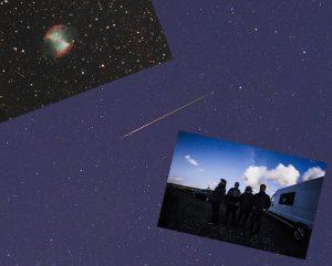M27, Perseidi meteori, ryhmä