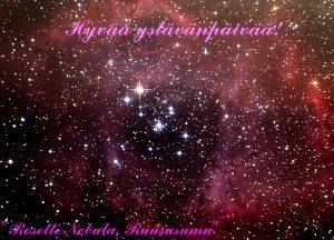 Rosette Nebula, Ruususumu
